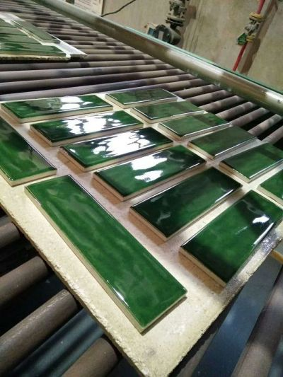 60x200mm wave surfaces solid color glazed