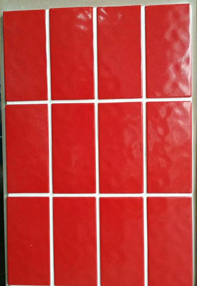 75x150mm wave surfaces solid color glazed