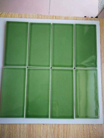75x150mm pure color glazed porcelain tiles