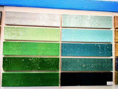 pure color glaze split pocelain tiles 60*240mm
