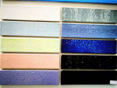 pure color glaze split pocelain tiles 60*240mm