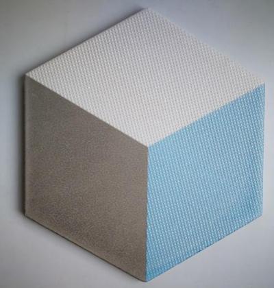 Non slip hexagon floor tiles 200*230*115mm