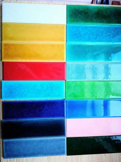 60*200mm cracke glazed pocelain wall tiles
