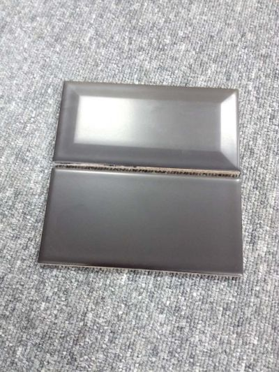 75*150mm black bevelled and flat